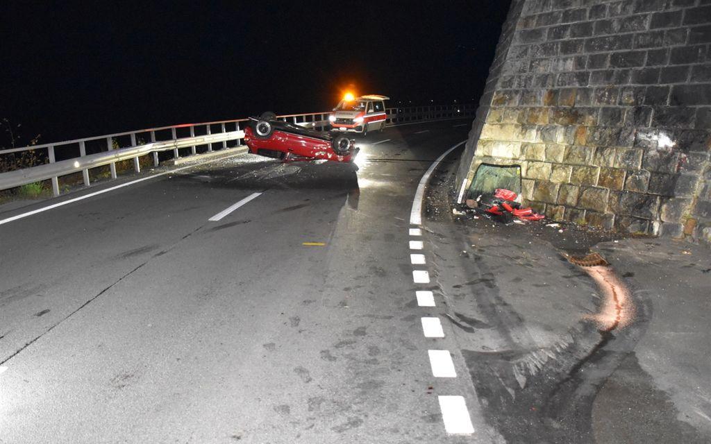 Incidente stradale nella notte a Le Prese
