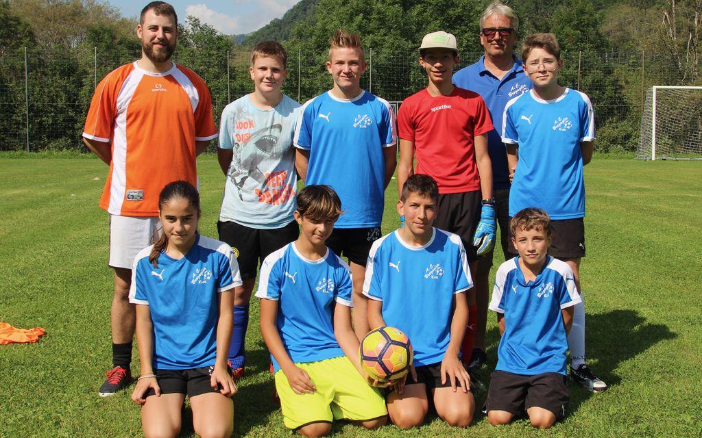 AC Bregaglia, i giovani tornano in campo