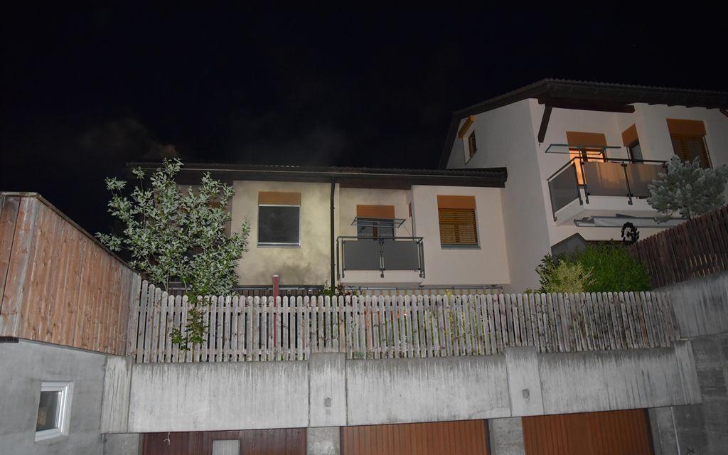 Incendio nella cucina di una casa bifamiliare