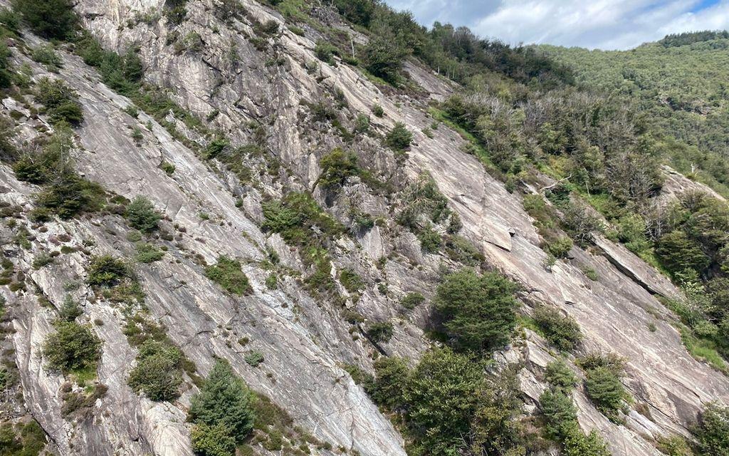 Infortunio nella palestra di arrampicata