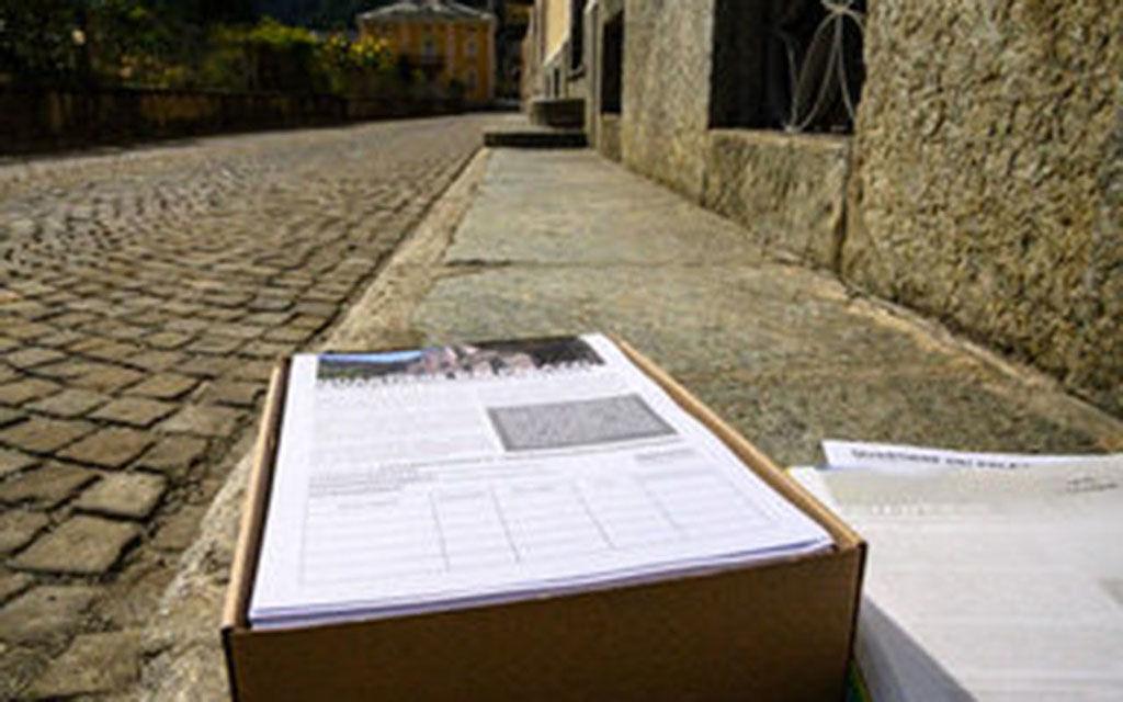 Via di Palazz: 1'114 firme raccolte