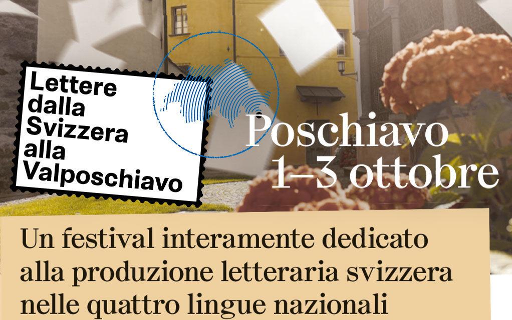 Presentazione live del Festival letterario