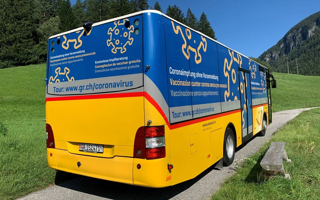 Un bus porterà il vaccino in tutto il Cantone