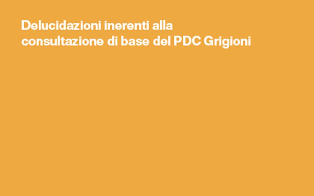 PBD e PDC Grigioni interrogano i propri membri