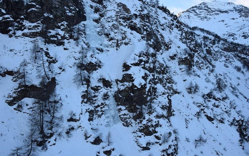 Morto uno scalatore a Cavaglia