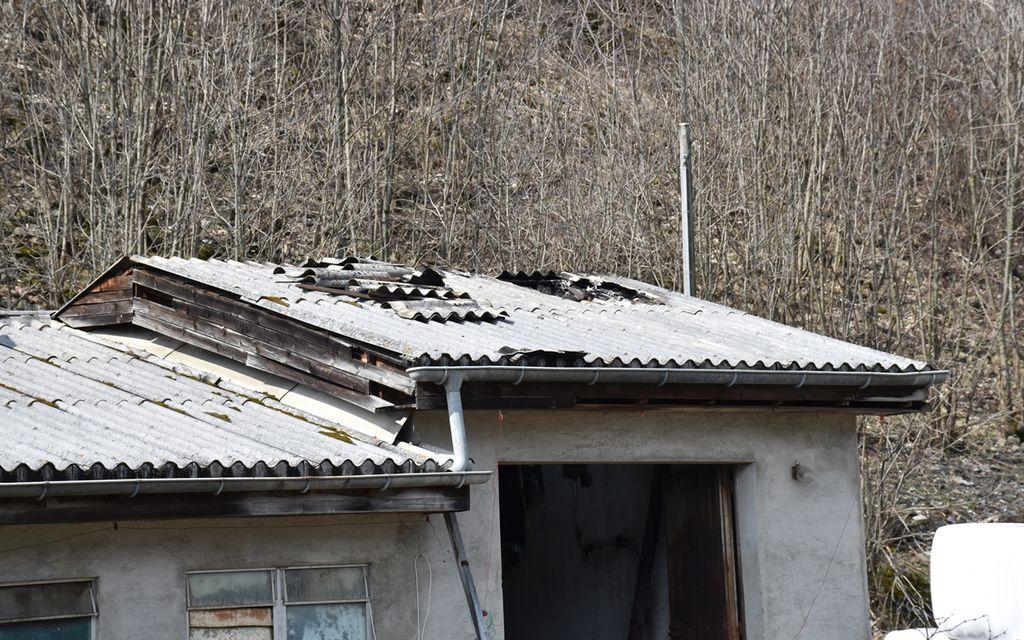 Incendio in una stalla a Poschiavo