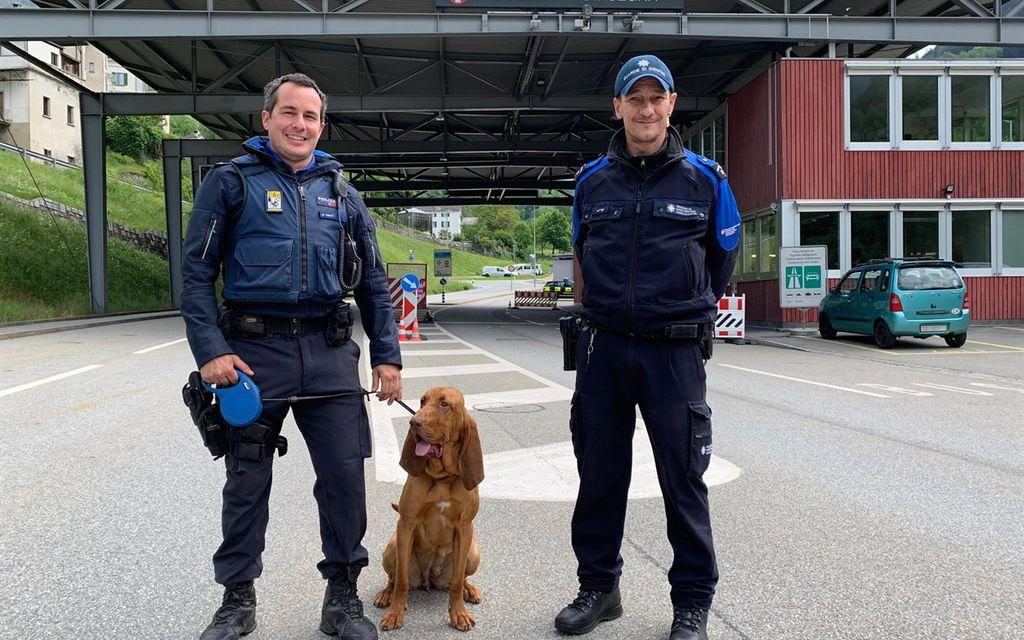 Polizia cantonale impiegata alle frontiere
