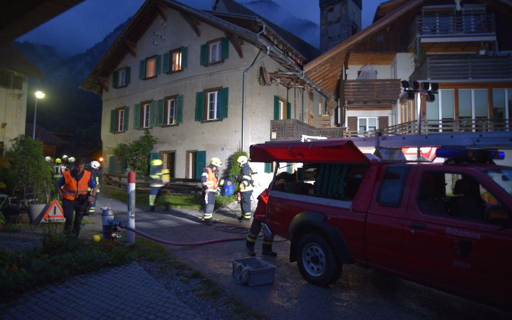 Sigaretta accesa provoca incendio in una casa