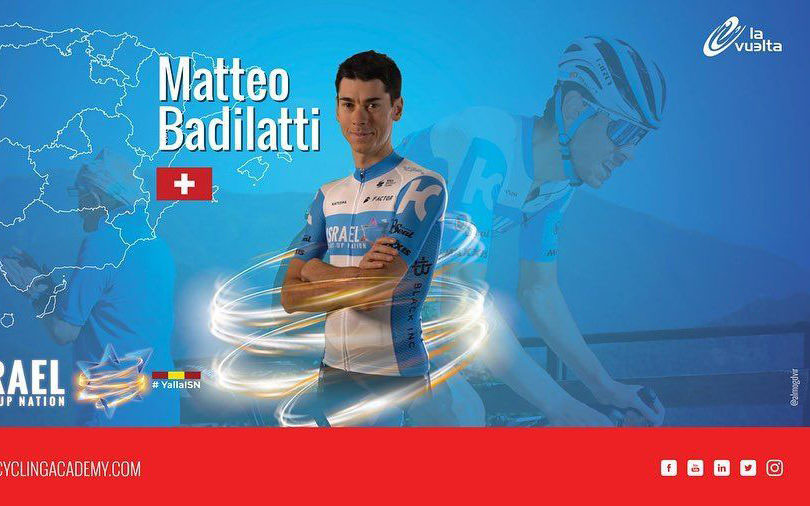 Matteo Badilatti sarà alla Vuelta!