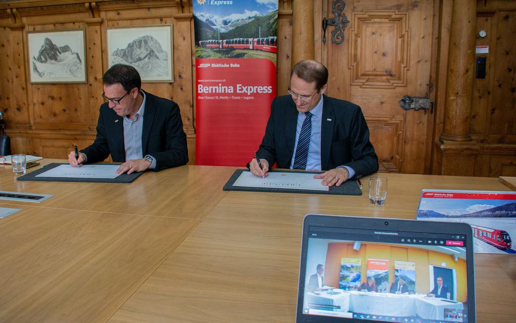 Accordo Ferrovia Retica e Mariazellerbahn