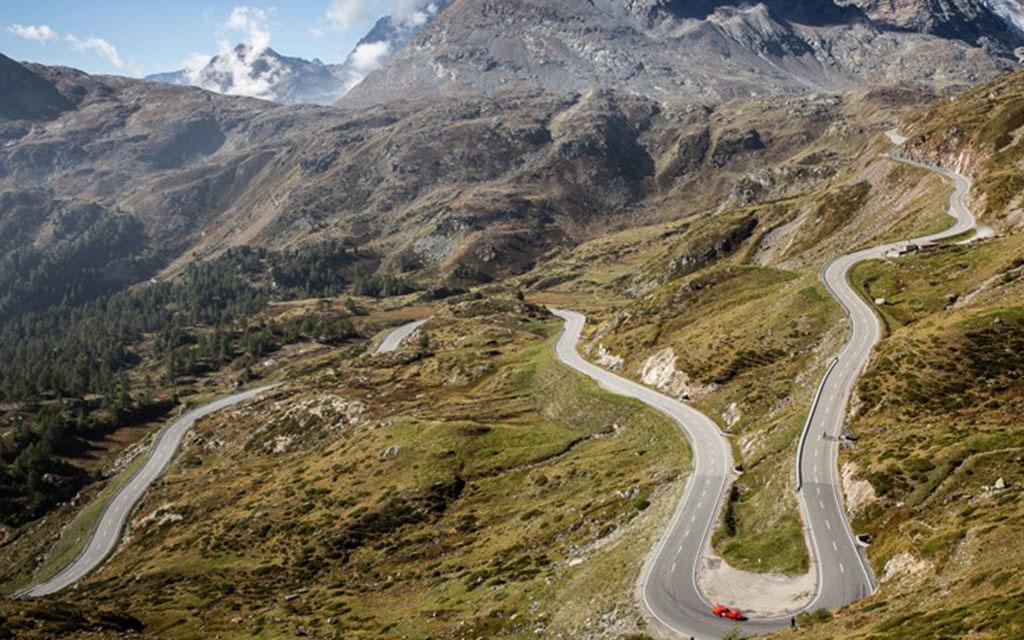 Giunta: una giornata senza traffico sul Bernina