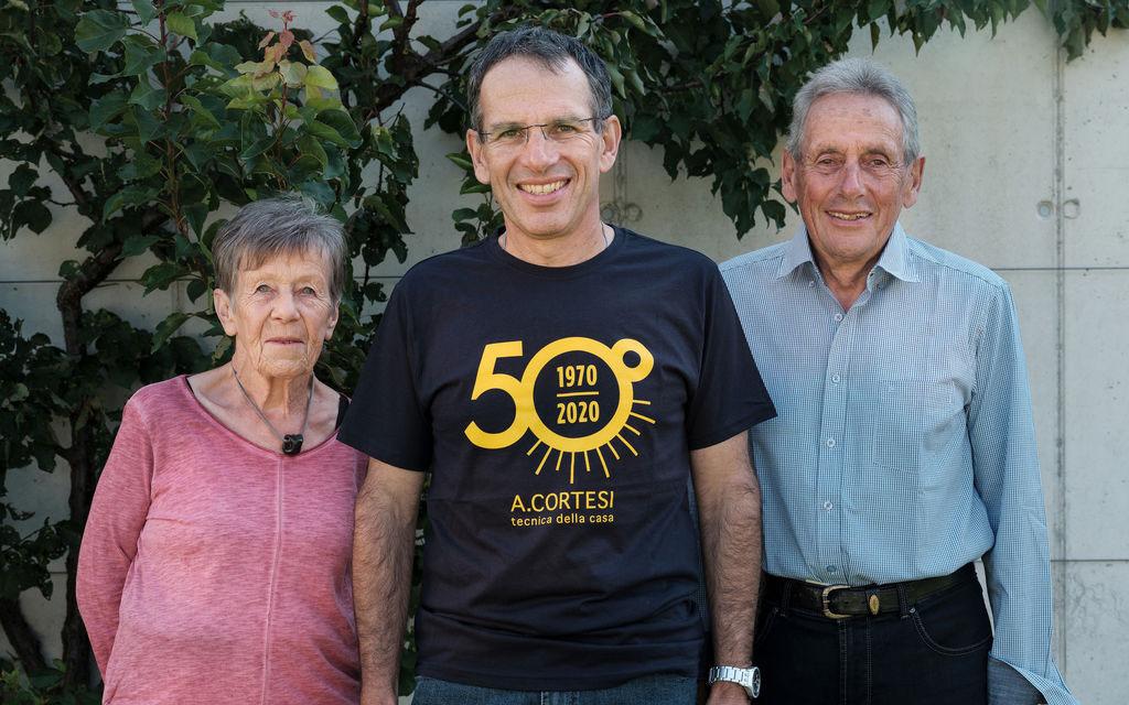 La A. Cortesi SA festeggia i suoi 50 anni di vita