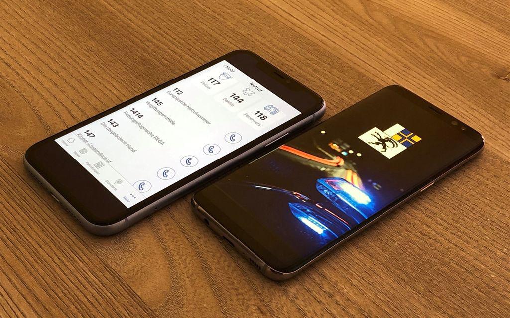 210'000 accessi al mese nell'app della polizia
