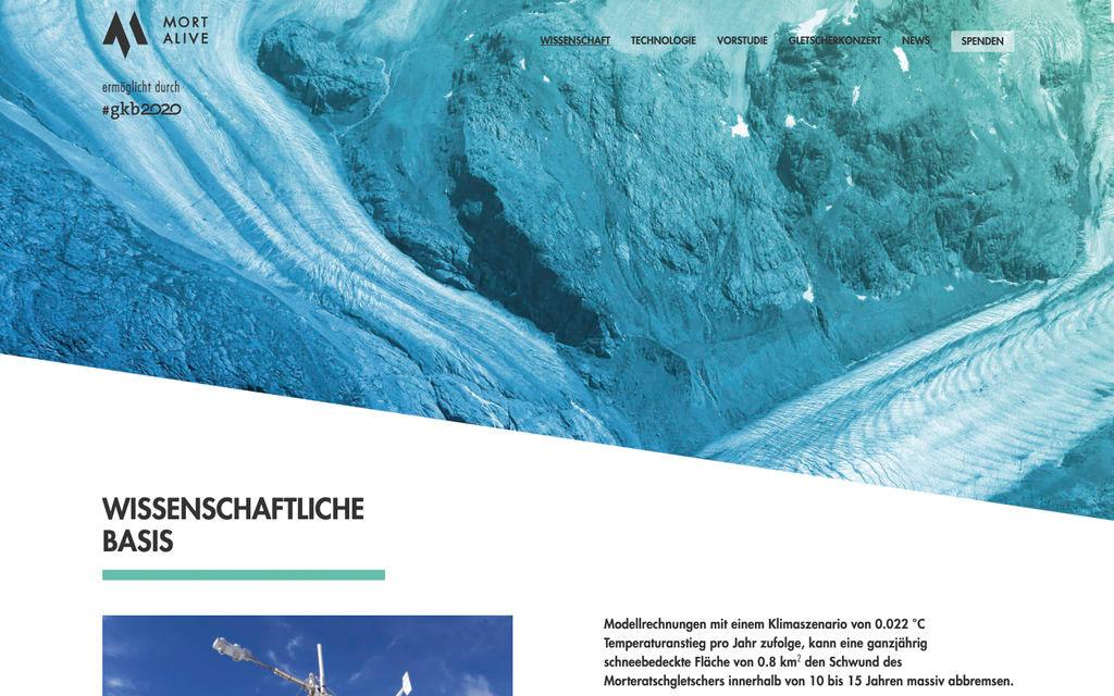 Al via un progetto per salvare i ghiacciai
