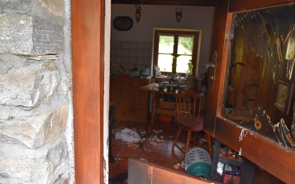 77enne muore in un'esplosione ad Arvigo