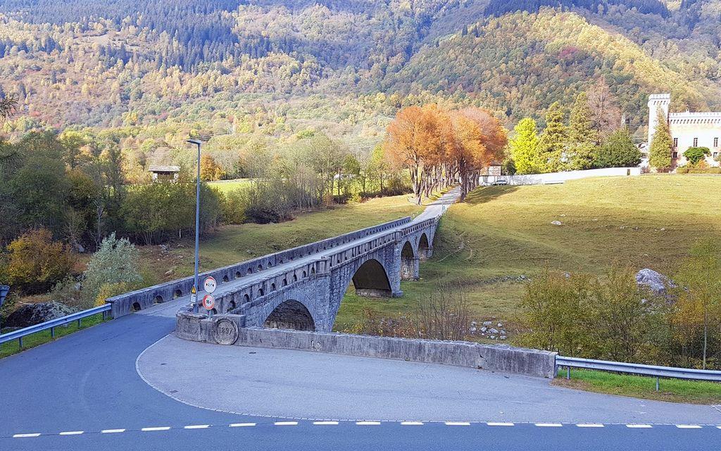 La strada per Montaccio diventa cantonale