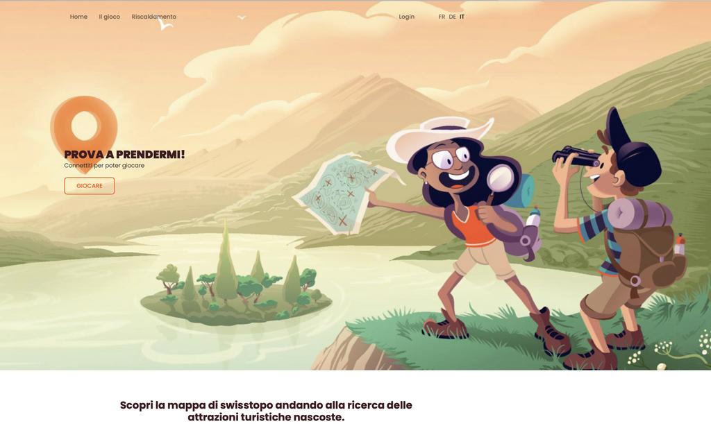 Caccia al tesoro tra i siti turistici svizzeri