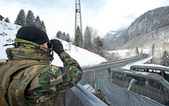 WEF 2020: impiego dell'esercito terminato