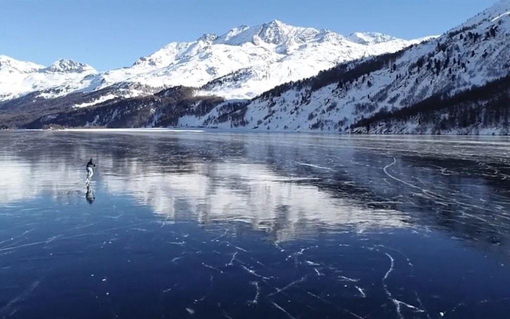 Non avventurarsi sui laghi ghiacciati