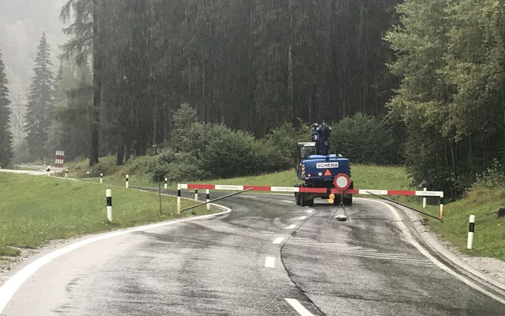 Bregaglia: la strada cantonale rimane chiusa