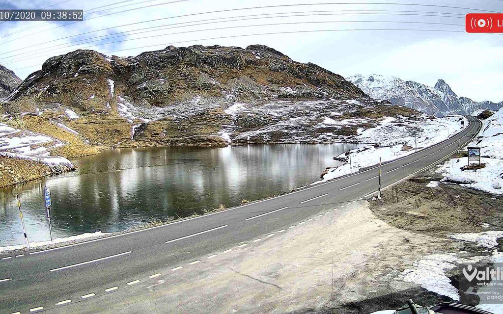 Webcam sul Bernina che filma anche di notte