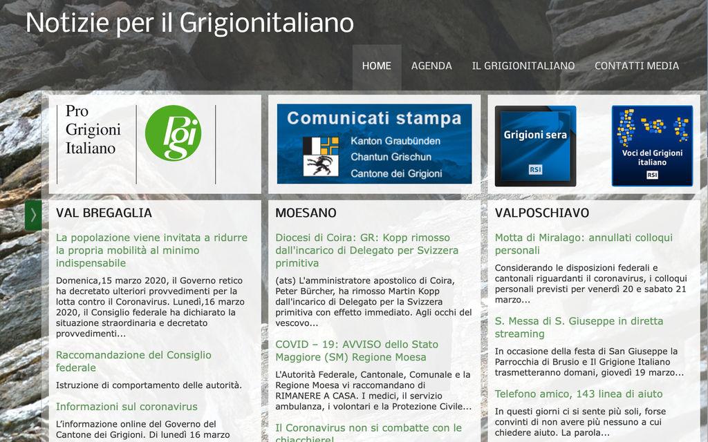 Dalla Pgi un sostegno all'informazione in italiano