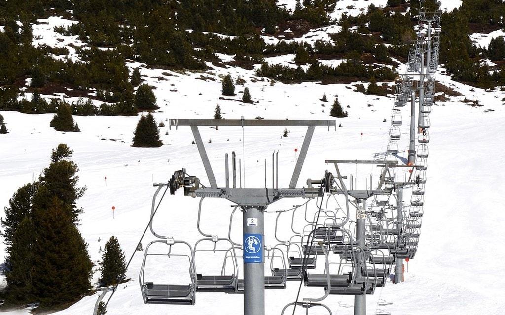 In febbraio -9% sugli impianti di sci