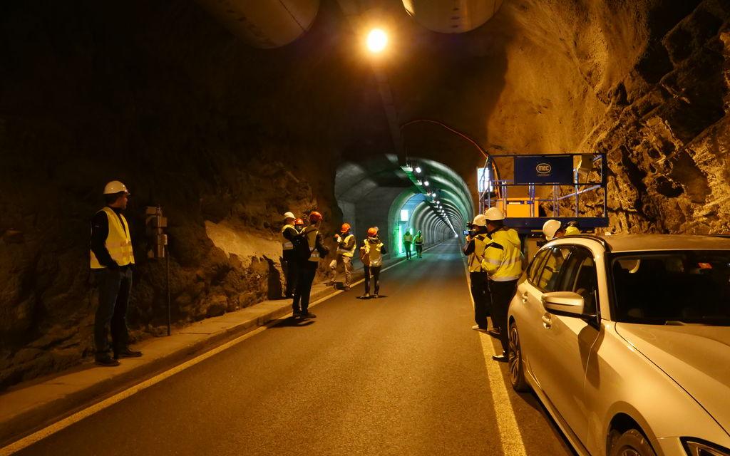 Chiuso il tunnel del Munt la Schera