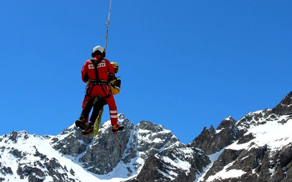 Tre alpinisti salvati dalla REGA