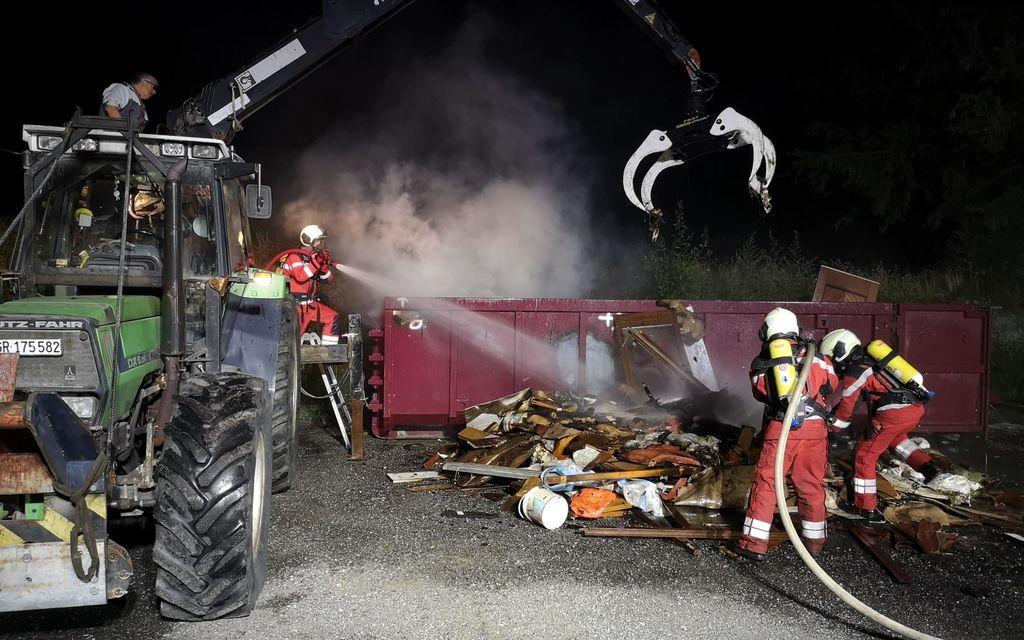 Bregaglia: pompieri in azione a Spino