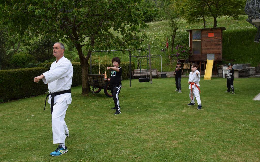 Karate Valposchiavo: al via gli allenamenti