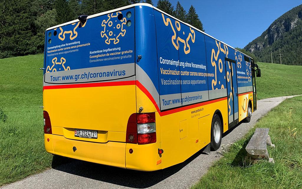Nuovo giro del Vaxbus nel Cantone