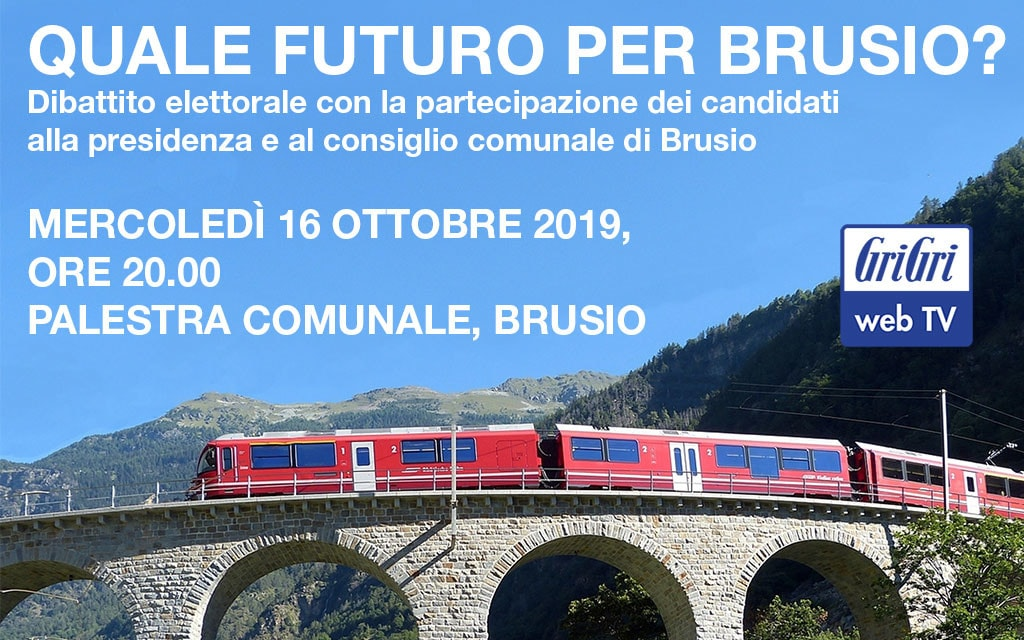 «Quale futuro per Brusio?»: la diretta streaming