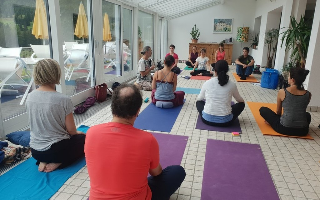 Seminario di yoga in Valposchiavo