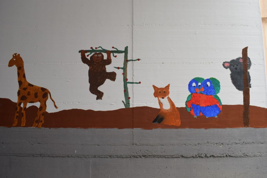 Murale Casa Anziani A3071